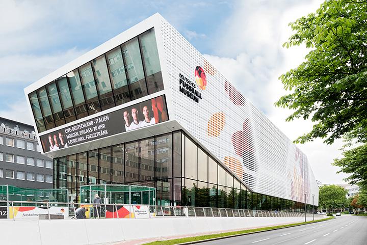 Deutsches fu ballmuseum halfkann kirchner for Museum hotel dortmund